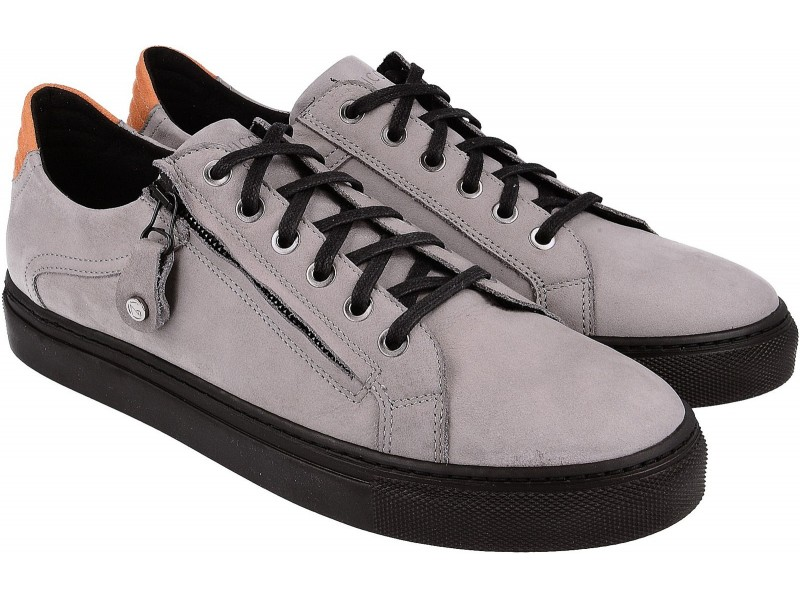 Sneakersy NIK Giatoma Niccoli - SZARE art. 03-0916-02-8-08-02