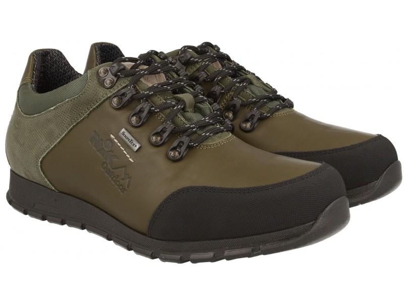 Herren-Schuhe Trekking-NIK - Schwarz - Membran Sympatex®
