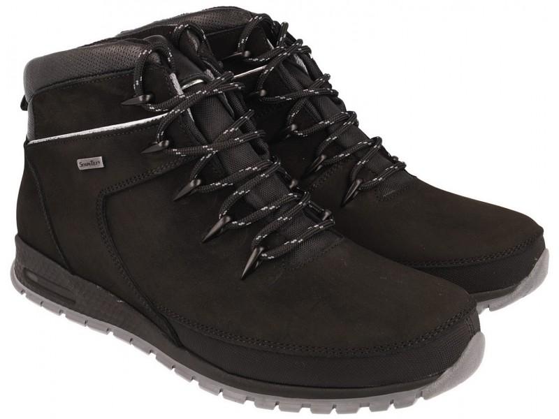 Buty trekkingowe | Trzewiki trekkingowe NIK - Czarne - membrana