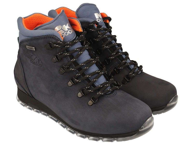 Women's trekking boots NIK - dark-blue - breathable membrane Sympatex