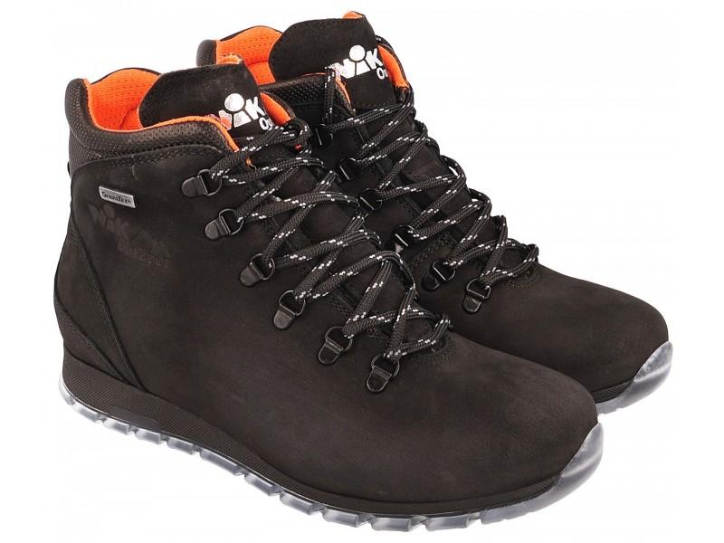 Women's trekking boots NIK - Black - breathable membrane Sympatex