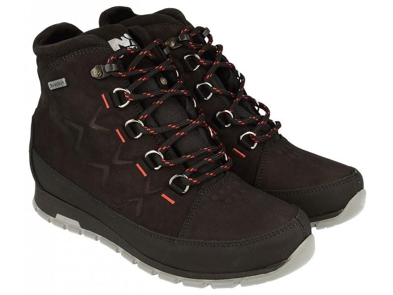 buty trekkingowe damskie   Buty trekkingowe młodzieżowe, CZARNA