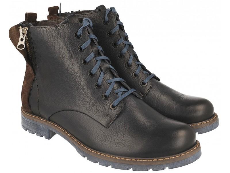 nikbuty.pl | trapery męskie  Klasyczne zimowe buty męskie NIK -