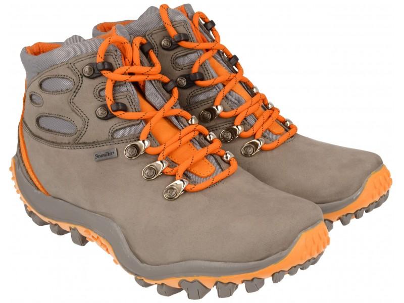 3aecf292 buty trekkingowe damskie | Trzewiki trekkingowe NIK - Szare -