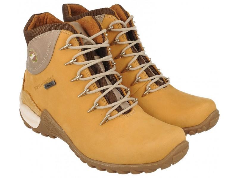 buty trekkingowe damskie | Buty trekkingowe młodzieżowe, ŻÓŁTA