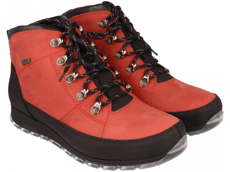 nikbuty.pl | trapery męskie  Czerwone buty trekkingowe, męskie
