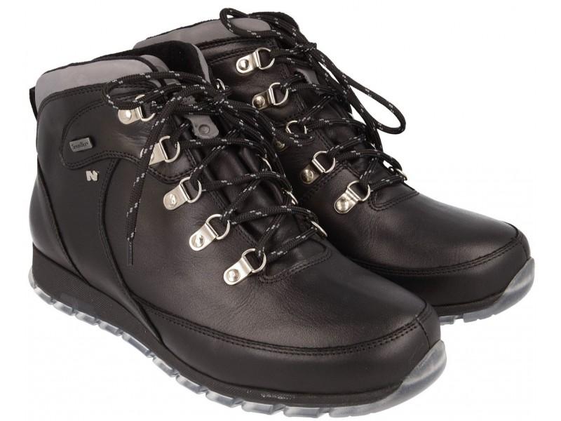 nikbuty.pl | trapery męskie  CZARNE buty trekkingowe NIK