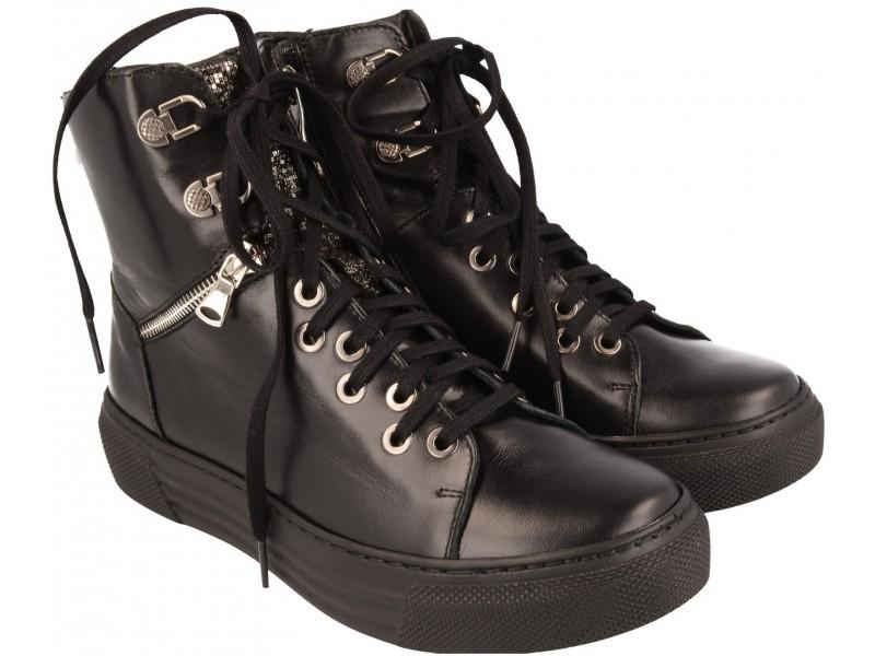 a5d55566 Trzewiki sneakers NIK Giatoma Niccoli, naturalna skóra 08-0510-13-0 ...