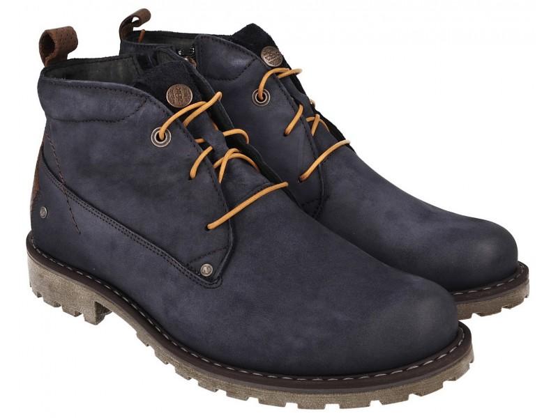 Men's boots NIK - dark blue