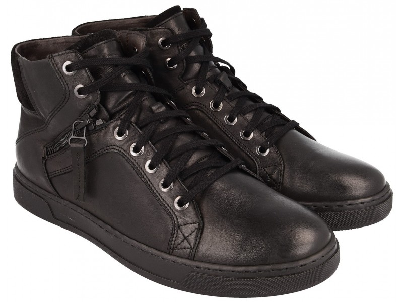 Sportowe Sneakersy NIK Giatoma Niccoli - Czarne