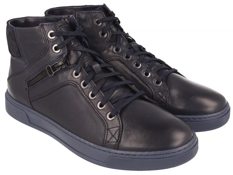 Sportowe Sneakersy NIK Giatoma Niccoli - Granatowe