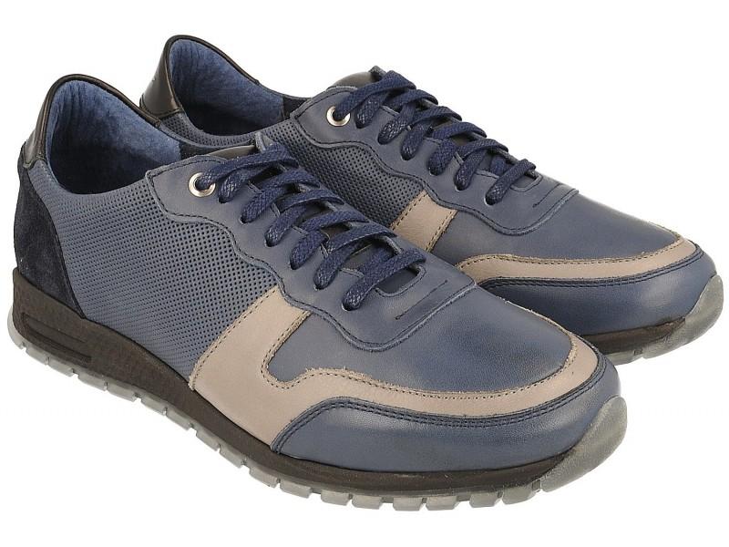 Sneakersy NIK Giatoma Niccoli - Niebieski