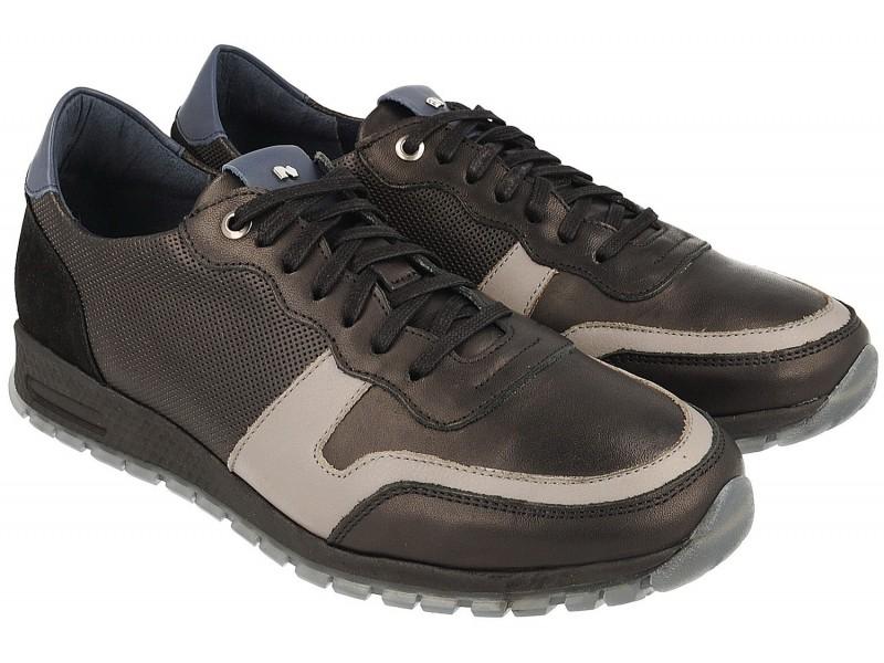 Sneakersy NIK Giatoma Niccoli - Czarne