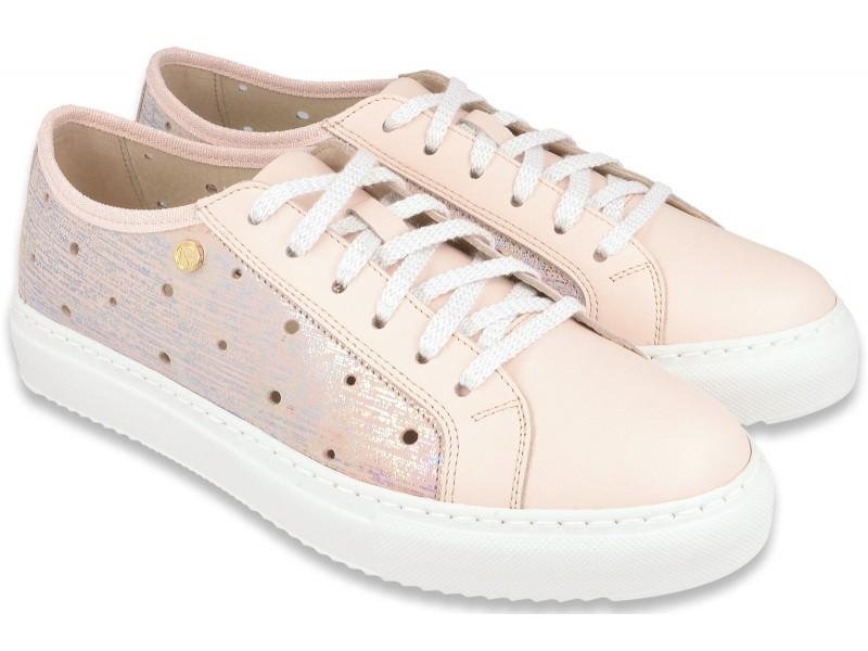 Sneakers NIK Giatoma Niccoli  obuwie casual  sportowy styl -Różowe