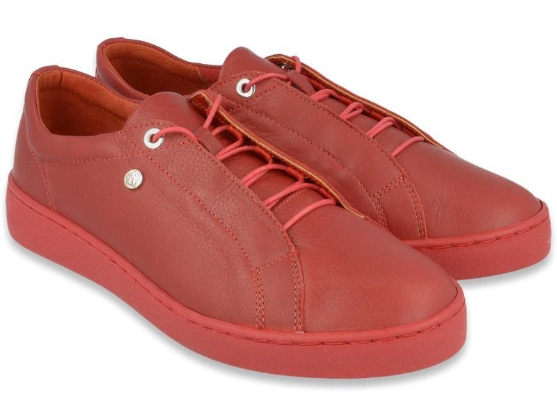 Półbuty NIK Giatoma Niccoli sportowe sneakersy  - Czerwone