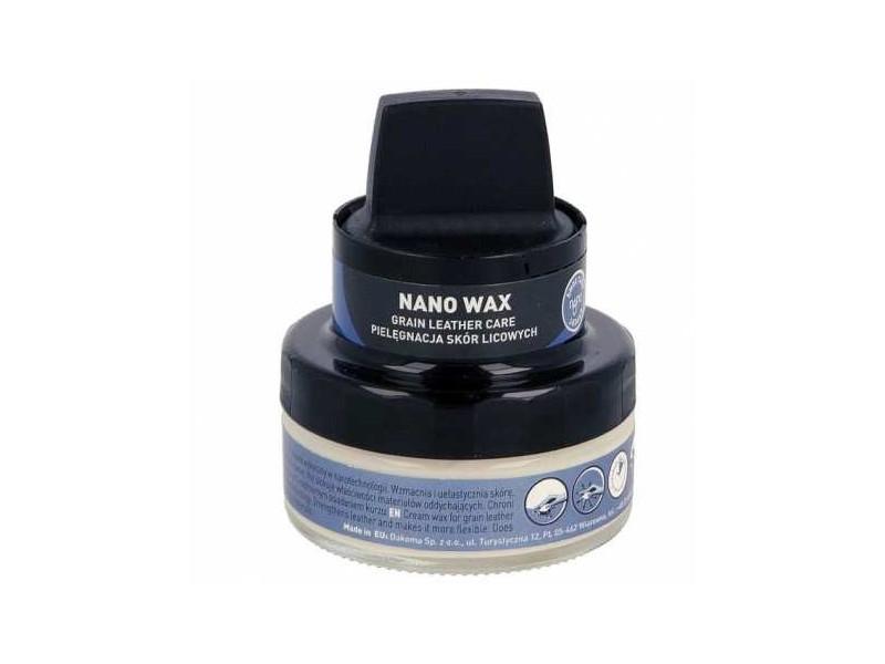 KREM NANO do skór LICOWYCH / BEZBARWNY / NANO WAX krem do obuwia wykonany w nanotechnologii