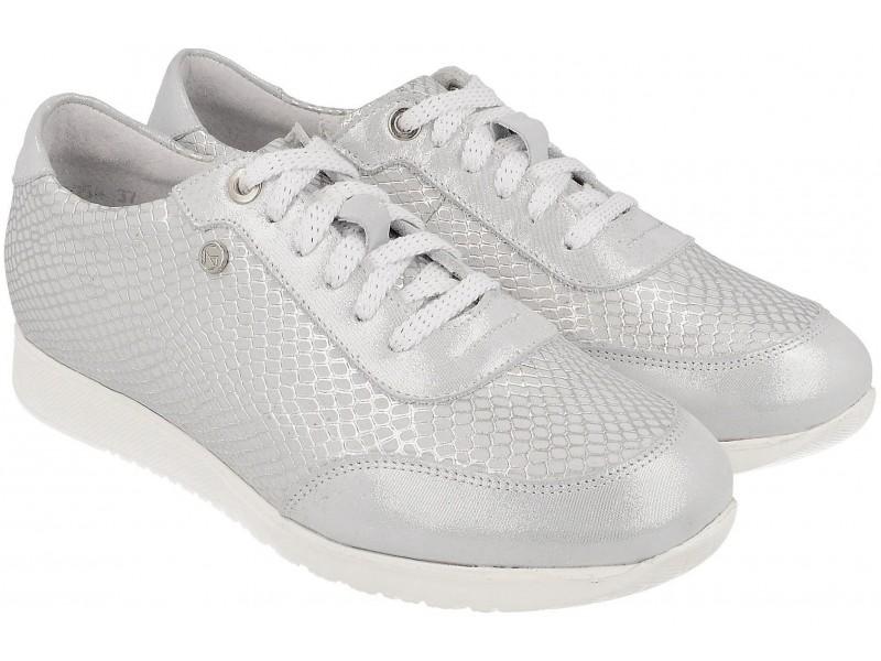 Sneakersy NIK Giatoma Niccoli - SREBRNE ART. 05-0599-04-8-23-02