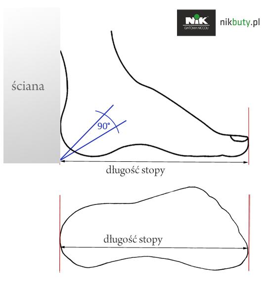 jak mierzyć obuwie
