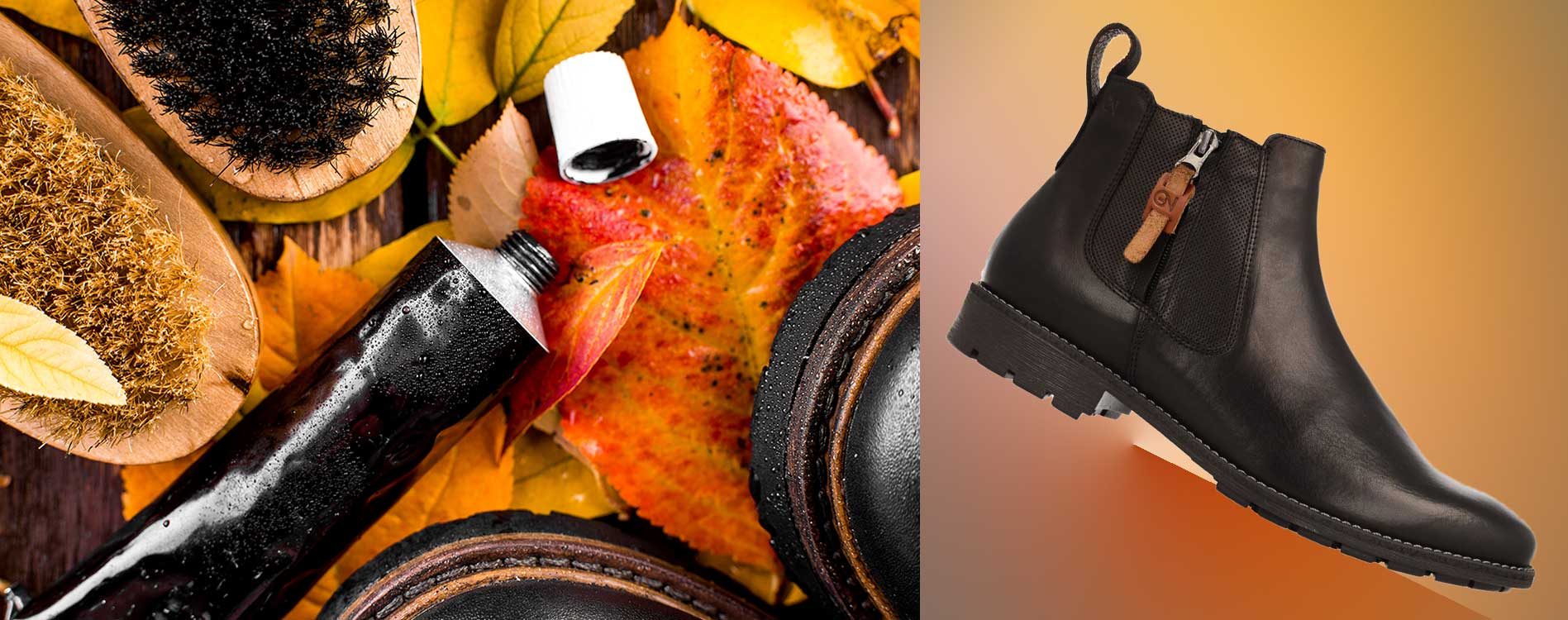 Pielęgnacja obuwia - kosmetyki do butów